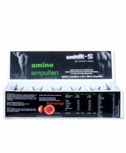 Amino Ampullen zur Regeneration und Erholung, Geschmack Blutorange