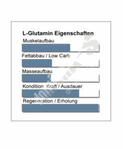 L-Glutamin Produkteigenschaften