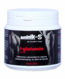 L-Glutamin zur Muskeldefinition, Pulver 250g
