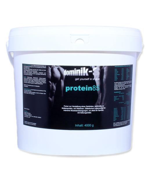 Protein 85 4000g zum Muskelaufbau