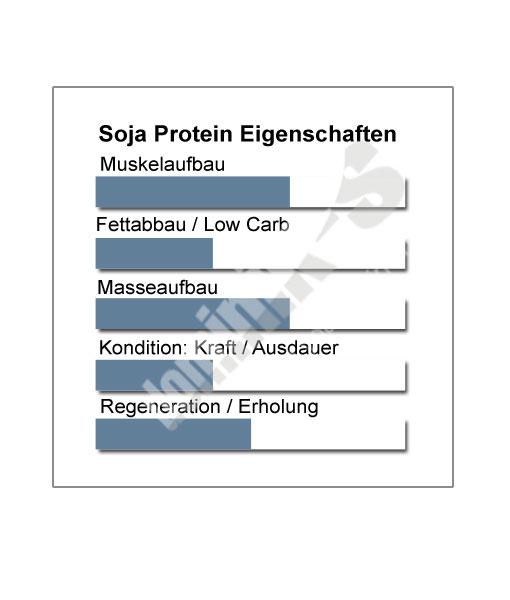Soja Protein Produkteigenschaften