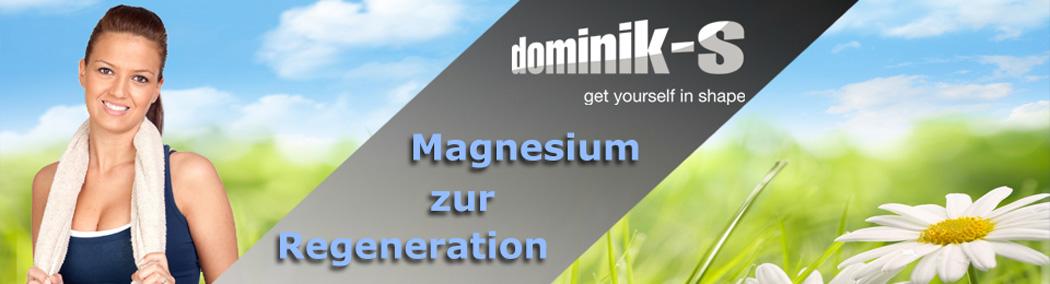 Magnesium zur Regeneration der Muskeln