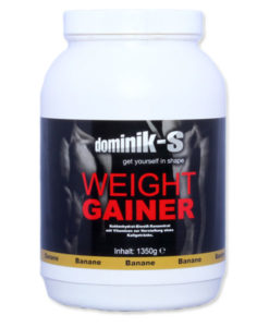 Weight Gainer Banane 1350g Dose