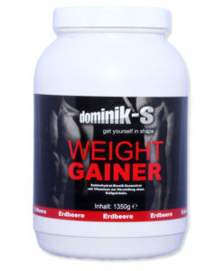 Weight Gainer Erdbeere 1350g Dose