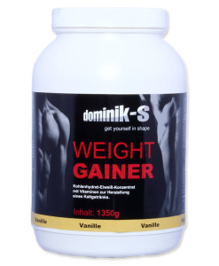 Weight Gainer Vanille 1350g Dose